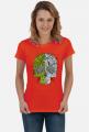 Koszulka Damska Abstrakcyjna Czaszka
