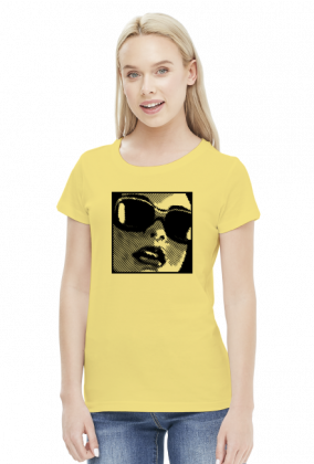 Koszulka Damska Pop Art Girl