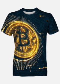KOSZULKA BITCOIN MEN BLACK