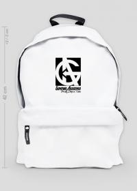 Plecak GUMOWA AKADEMIA duży, biały
