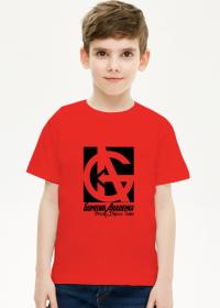 T-shirt dziecięcy , biały lub czerwony