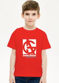 T-shirt dziecięcy , czarny lub czerwony
