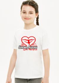 Love Machowe koszulka dziecięca biała