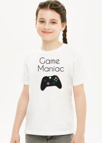 Koszulka dziewczęca game maniac