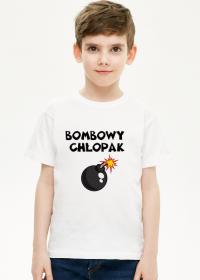 Koszulka chłopięca bombowy chłopak