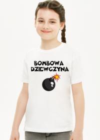 Koszulka dziewczęca bombowa dziewczyna