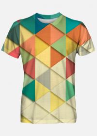 Koszulka męska Triangles