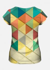 Koszulka damska Triangles