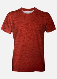 Koszulka męska Red Texture