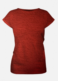 Koszulka damska Red Texture