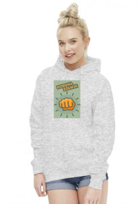 Bluza z kapturem Żółwik Damska
