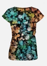 Koszulka damska Colorful Circles