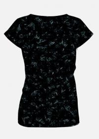 Koszulka damska Black Abstract