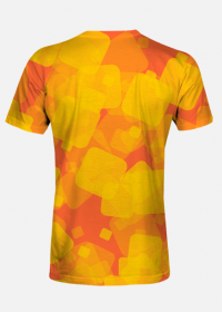 Koszulka męska Yellow Squares