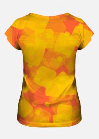 Koszulka damska Yellow Squares