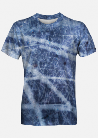 Koszulka męska Blue Abstract