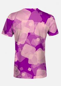 Koszulka męska Violet Squares
