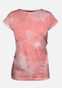 Koszulka damska Pink Squares