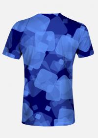 Koszulka męska Blue Squares