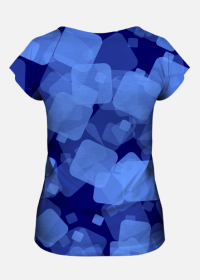 Koszulka damska Blue Squares