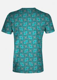 Koszulka męska Blue Texture