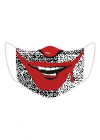 Maseczka z nadrukiem Joker