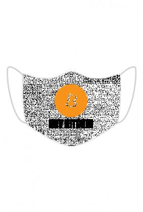 Maseczka ochronna Bitcoin