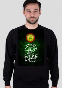 Bluza Weed black