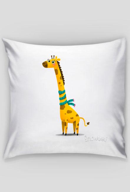 Żyrafa - poszewka na poduszkę - śpiewanki.tv