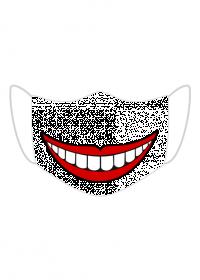 Maska z uśmiechem