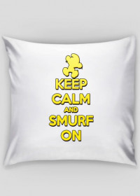 Keep Calm and Smurf on