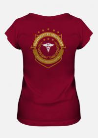 UMED- pielęgniarstwo - koszulka damska