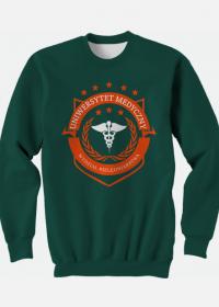 UMED- pielęgniarstwo - bluza zielona