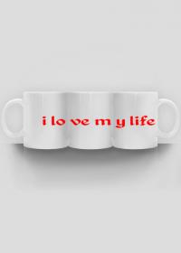 3 kubki- i love my life