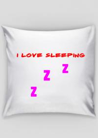 poduszka- i love sleeping zzz by: rejkel