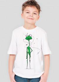 Żaba Franek - wersja dla dzieci, chłopięca