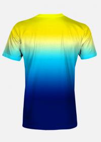 Koszulka Fullprint Gradient 3d