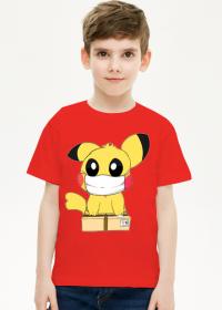 Pikachu w masce koszulka dziecięca
