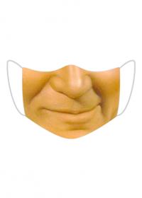 żułta maska / papież maseczka