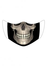 Maseczka z nadrukiem - czaszka