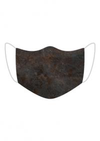 Maseczka kolorowa czarny metal