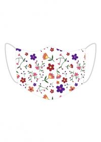 Maseczka na twarz kwiatki
