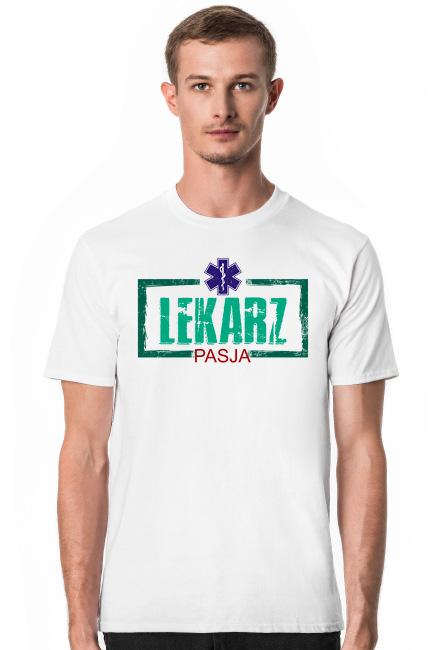 Lekarz. Doktor. Prezent dla Lekarza. Prezent dla Doktora. Koszulka dla Lekarza i Doktora
