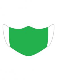 Maseczka ochronna zielona