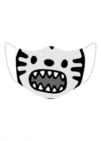 Maska ochronna Tygrysek