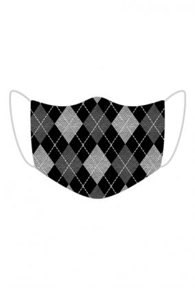 Maseczka z nadrukiem sweterek