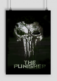 Plakat Punisher Własny projekt