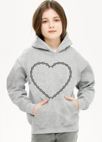 Bluza dna serce