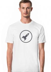 t-shirt rakieta