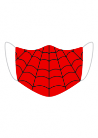 Spiderman maseczka na twarz